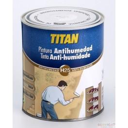 Pintura Antihumedad Titan 750 ml.
