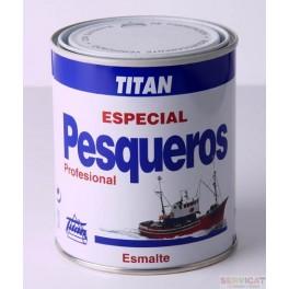 ESMALTE TITANLUX PESQUEROS BLANCO