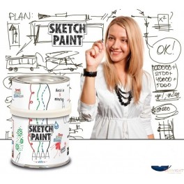 SKETCH PAINT BLANCO 0,5L.