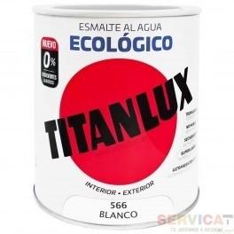 TITANLUX ESMALTE ECOLOGICO BLANCO BRILLANTE