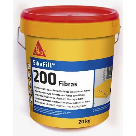 SIKAFILL 200 FIBRAS 20 KILOS